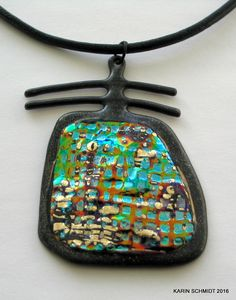 Vedhæng. Pendant. Friendly plastic. Karin Schmidt, Friendly Plastic, Metal Working, Polymer Clay, Pendant Necklace, Inspiration, Jewelry, Biblical Inspiration, Jewlery