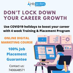 Before affect your lifestyle join our Digital Marketing Mission & get secured. Use holidays to boost your career with 4 weeks Online Digital Marketing Training Program. Get gurarenteed placement. call us for Online Digital Marketing Courses, Digital India, Marketing Training, Part Time Jobs, Competitor Analysis, Work From Home Jobs, Online Jobs, Training Programs, Homemaking