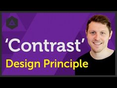 'Contrast' Design principle of Graphic Design Ep9/45 [Beginners guide to Graphic Design] - YouTube
