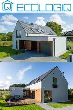 Cladding Design, Modern Barn House, Duplex House, Home Remodeling Diy, Modern Farmhouse Exterior, House Layouts, Future House, Building A House, Architecture Design