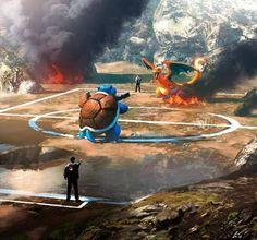 #Pokemon Arena Fan Art