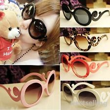 Popular Retro Round Sunglasses Woman Semi Transparent Butterfly Clouds Glasses