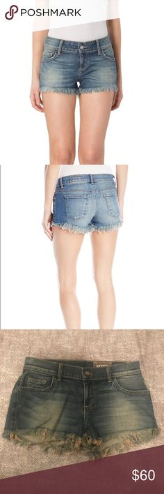 SIWY / denim shorts / Blondie / Leave Me Alone SIWY / denim shorts / Style = Blondie / Wash = Leave me Alone / size = 25 / super flattering / really good stretch / never been worn Siwy Shorts Jean Shorts