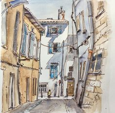 """""""Les petites rues"""" (1) La Ciotat"""