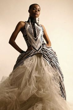 Ethnic Weddings | African Wedding Dresses... I'm not going to do this but i love it!
