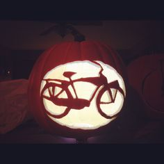 My Schwinn Phantom Bicycle bike pumpkin
