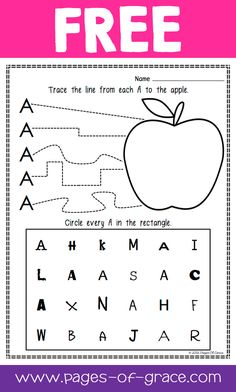 Are you looking for some great activities for teaching letter recognition? Help your students master uppercase and lowercase letters with this activity packet. Kids practice identifying letters with 3 engaging worksheets and 2 fun center activities. Preschool Curriculum, Preschool Learning, Kindergarten Worksheets, Learning The Alphabet, Preschool Activities, Homeschooling, Kindergarten Writing, Teaching Letter Recognition, Teaching Letters