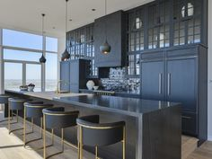 Luxe kitchen at 2430 Victory Park Lane #3201 Dallas 75219, W Residence