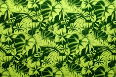 polyester and cotton fabric. Colors and shapes of this picture may vary from the original fabric. Hawaiian Print, Love Wallpaper, Hunter Green, Playsuit, Wallpapers, Fabric, Pictures, Color, Jumpsuits