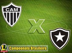 BotafogoDePrimeira: Cheios de desfalques, Atlético-MG e Botafogo duela...