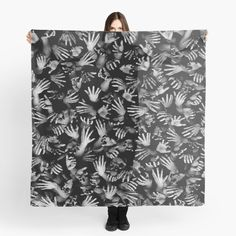 """""""Appetite Of The Living Dead"""" Scarf by GrandeDuc 