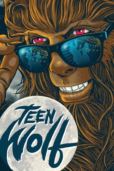 Teen Wolf Movie Poster - Michael J. Teen Wolf Movie, Teen Wolf 1985, Bad Candy, Teen Celebrities, Wolf Spirit, Fox Art, Family Movies, Michael J, Prime Video