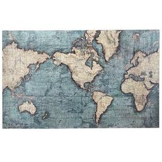 The world is not flat—not even in our shimmery Map of the World Art. Carefully created with dimensional details, it's a delightful discovery certainly worth exploring. Go ahead and stake your claim.
