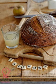Pszenno-żytni chleb jabłkowy na zakwasie Bread, Blog, Thermomix, Brot, Blogging, Baking, Breads, Buns