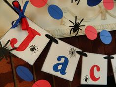 Spider Party Decorations Spider Banner Birthday Party