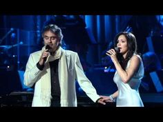 Andreea Bocelli and Katharine Mcphee - The prayer (Live 2008) HD - YouTube