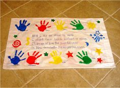 Image detail for -Memory pillowcases make wonderful end-of-the-year gifts for students ...