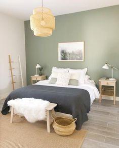 Home Decor Bedroom Master Romantic Home Decor Bedroom Master Home Decor Bedroom, Bedroom Inspirations, Home Bedroom, Bedroom Interior, Bedroom Design, Woman Bedroom, Bedroom Green, Home Decor, House Interior