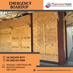 Professional Glass Window Services and Repair provides 24-hour emergency board up services to any residential or commercial property in Washington DC. For more information call us on (703) 679-0077 or visit us at Professional Glass Window Services and Repair   #Emergencyboardup #DCEmergencyboardup #PatioDoorGlassRepair #DCResidentialglassrepair #CommercialGlassRepair #BrokenShowerDoorRepair #ShowerDoorRepair Glass Repair, Patio Doors, Washington Dc, Commercial, Windows, Board, Window, Sign, Planks