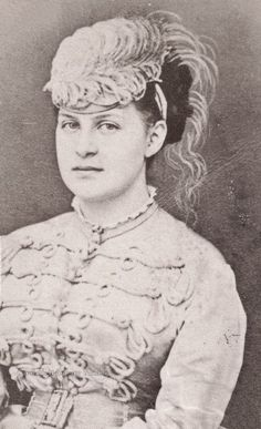 Queen Olga of the Hellenes, neé Grand Duchess Olga Konstantinovna of Russia. Late 1860s.