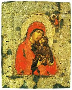 Feast of the Conception of Saint Anna, on December Russian Icons, Art Icon, Orthodox Icons, 14th Century, Christian Art, Religious Art, Byzantine, Virgin Mary, Madonna