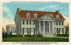 Mooseheart Illinois IL 1930 New York Reception Building Antique Vintage Postcard