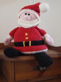 Mijn 1e haaksel, de kerstman