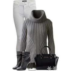 A fashion look from December 2014 featuring Alexander McQueen sweaters, J Brand jeans and Burberry ankle booties. Browse and shop related looks.