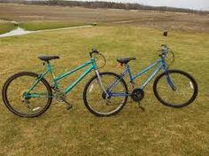 Resultado de imagen de parallel bike tandem