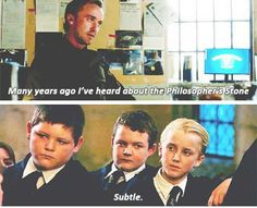 Tom Felton in Flash I think I actually groaned when he said this line...