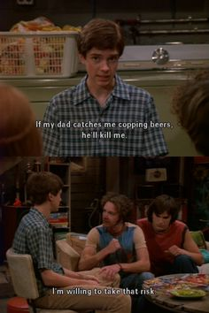 Tv Show Quotes, Movie Quotes, Series Movies, Movies And Tv Shows, That 70s Show Memes, Thats 70 Show, Some Jokes, Badass Quotes, Mood Pics