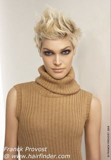 extremely short hair styles for women