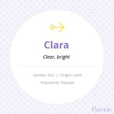 Baby Name: Clara