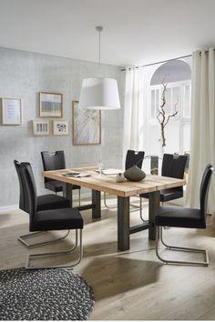 Esstisch Holz, Massivholztisch, Esstisch Mit Stühlen