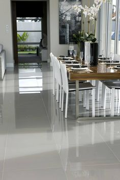 Massive savings on Grey Floor Tiles compared to high street prices. Huge selection of Grey Floor Tiles to choose from with free samples and free delivery available. Best Flooring For Kitchen, Modern Flooring, Grey Flooring, Floors Kitchen, Laminate Flooring, Brick Flooring, Basement Flooring, Floor Design, Tile Design