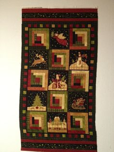 Christmas Treasures Fabric Panel by Susan by KoopsKountryKalico, $9.99