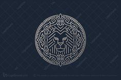 Logos Vintage, Vintage Branding, Vintage Graphic, Lion Logo, Luxury Logo, Logo Nasa, Logo Design Inspiration, Vector Art, Retro