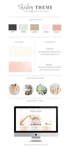 Nuevo tema Wordpress Genesis Shirley - Lovely Confetti