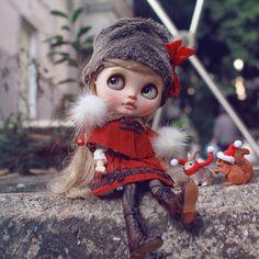 #christmasmia #blythe #customblythe #blythecustom #doll #chuthings #k07 #k07doll
