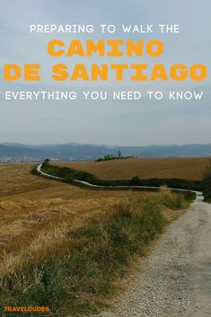 Top travel tips for hiking the Camino de Santiago in Spain. Hit the trails while carrying a light backpack by utilizing this packing list and tips. Always carry a map and make sure to pick your route wisely for the best walks. Travel in Spain Backpacking Europe, Europe Travel Tips, Travel Deals, Spain Travel, Traveling Europe, Europe Packing, Packing Lists, Travel Hacks, Travel Packing