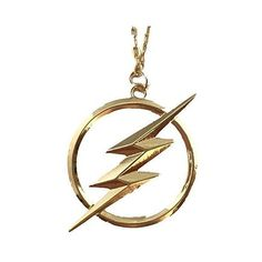 The Flash Necklace ❤ liked on Polyvore featuring jewelry and necklaces