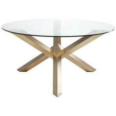Tamsin Gold Dining Table