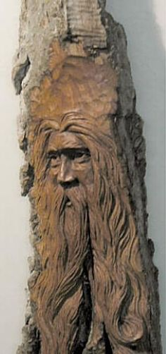 carving a tree on a piece of wood | was carved as a gift for my sister, a fiddle player. A large carving ...