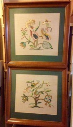 Repurpose an old frame save money on framing art paint tips how 189 2 framed elsa williams jacobean crewel embroidery in washington dc 20012 usa solutioingenieria Choice Image