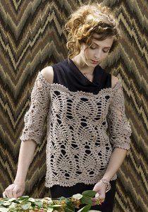 Free Crochet Patterns for Sweaters   AllFreeCrochet.com
