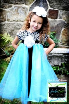 Damask Flower Girl Dress by OliviaKateCouture on Etsy, $124.99...What a little angel