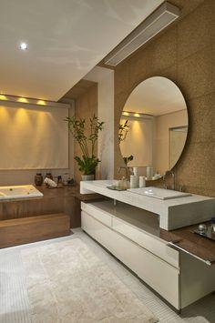 Salle de bain de style de style Moderne par Isabela Canaan Arquitetos e Associados Simple Bathroom Designs, Bathroom Design Luxury, Bathroom Interior, Unisex Bathroom Sign, Interior Architecture, Interior Design, Bathroom Design Inspiration, Dream Decor, House Design