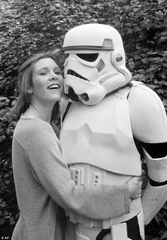 Most of her Star Wars co-stars and crew have shared messages about the star