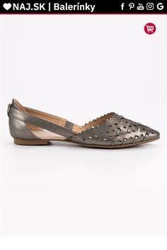 Štýlové strieborné baleríny VINCEZA Tommy Hilfiger, Platform, Adidas, Flats, Shoes, Fashion, Flat Shoes Outfit, Shoes Outlet, Fashion Styles