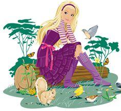 Imagens da Barbie em png